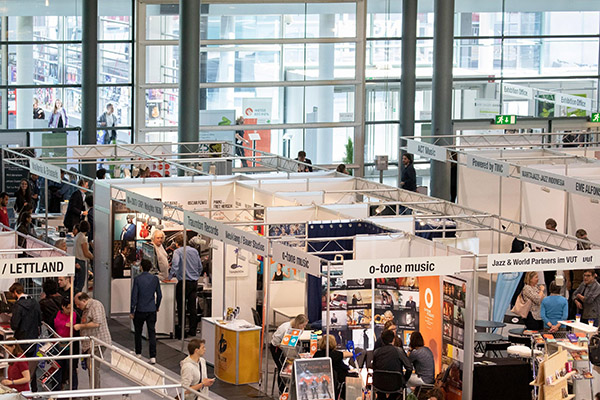 3,408 trade participants and exhibiting companies from 64 nations attended the jazzahead! 2019 trade fair. Courtesy M3B GmbH / Jörg Sarbach