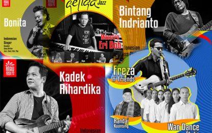 Riau Festival 2019 undang Bintang Indrianto, Kadek Rihardika, Geliga dan Bonita