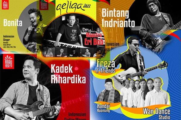 Photo of Riau Festival 2019 undang Bintang Indrianto, Kadek Rihardika, Geliga dan Bonita