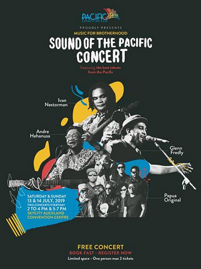 Photo of Ivan Nestorman, Papua Original, Glenn Fredly dan Andre Hehanussa tampil di Sound of Pacific Selandia Baru