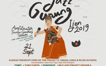 Jazz Gunung Ijen Siap Digelar pada 21 September 2019