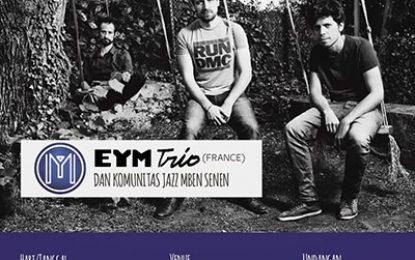 European Jazz Days edisi perdana sajikan EYM Trio dari Perancis di Jogja dan Bandung