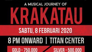 Photo of DSS Music persembahkan perjalanan musik Krakatau di Titan Center