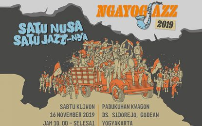 Satu Nusa Satu Jazz-nya, tema NgayogJazz 2019